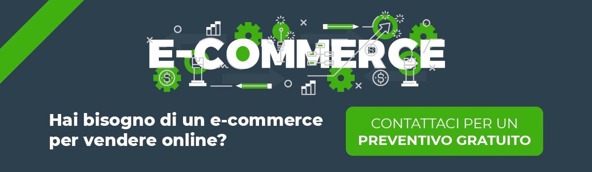 Preventivo Gratuito sito e-commerce